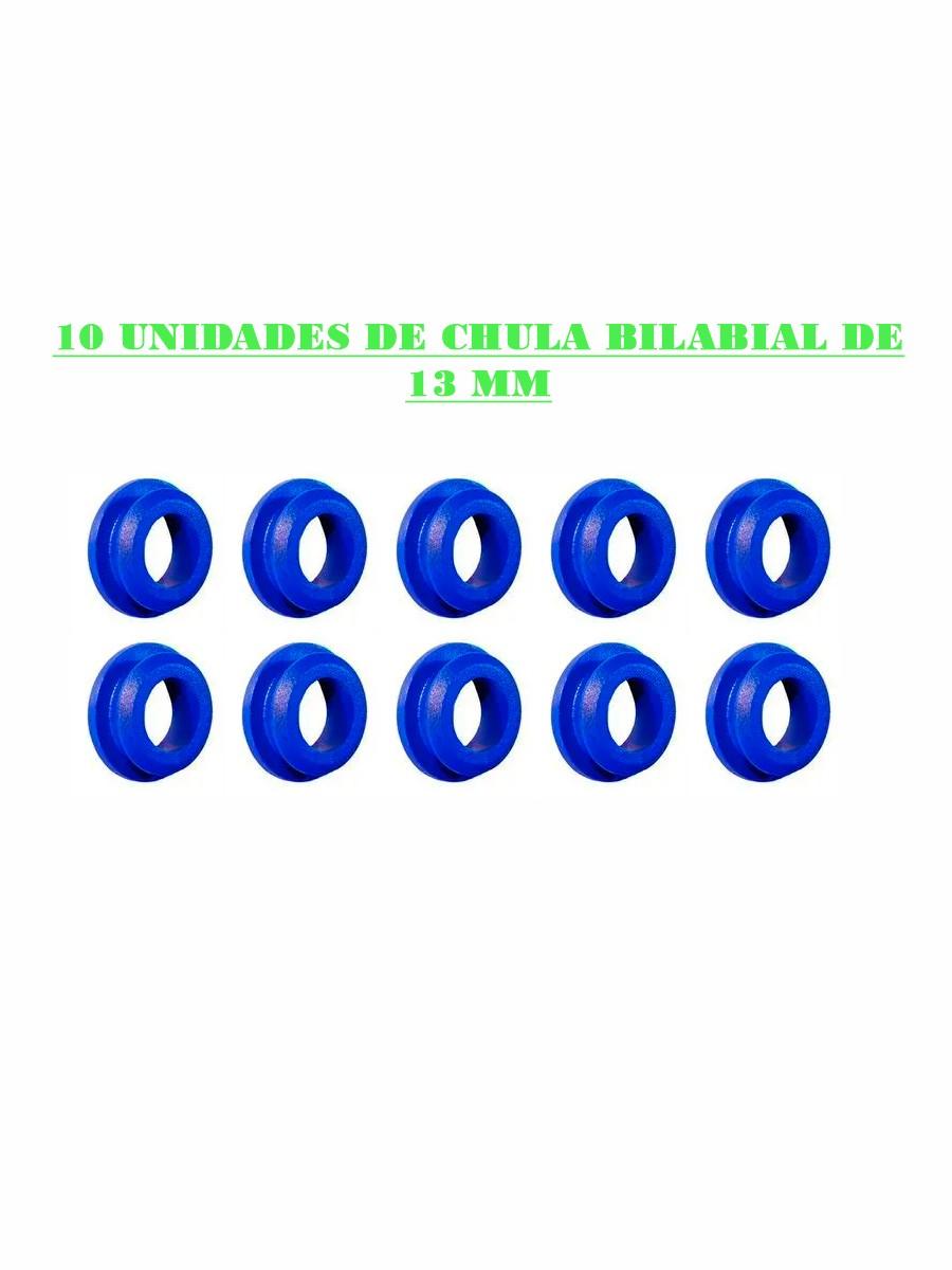 CHULA BILABIAL DE 13 MM - (10UN)