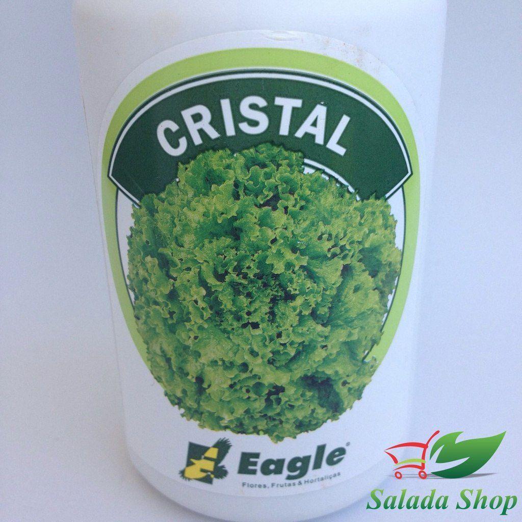 CRISTAL  Semente Alface Crespa Peletizada Eagle 5.000 SEMENTES
