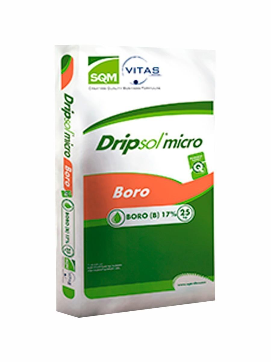 DRIPSOL MICRO BORO 17% - 25KG