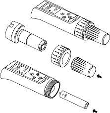 Eletrodo de Oxigênio Dissolvido e Temperatura para DO Eco