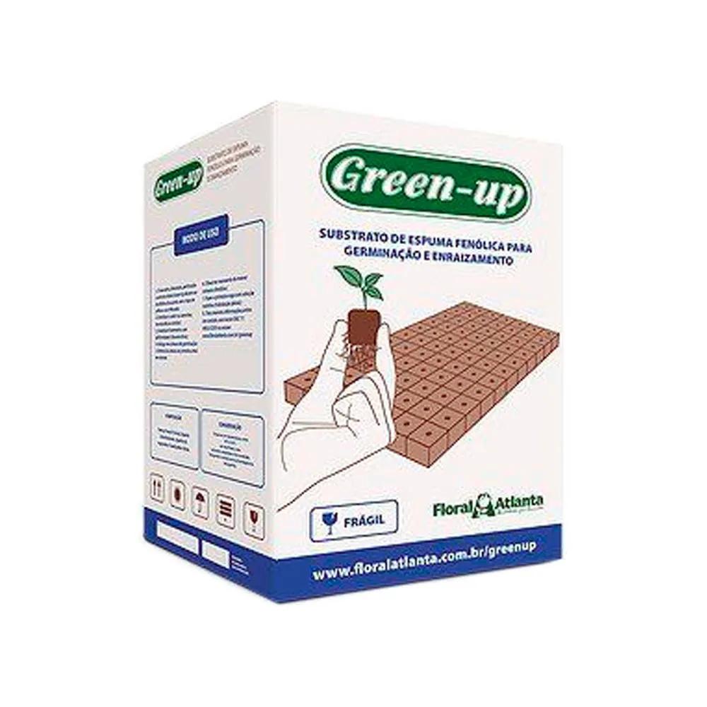 Espuma Fenólica GREEN-UP 1,9x1,9x2 cm - FURO RÚCULA