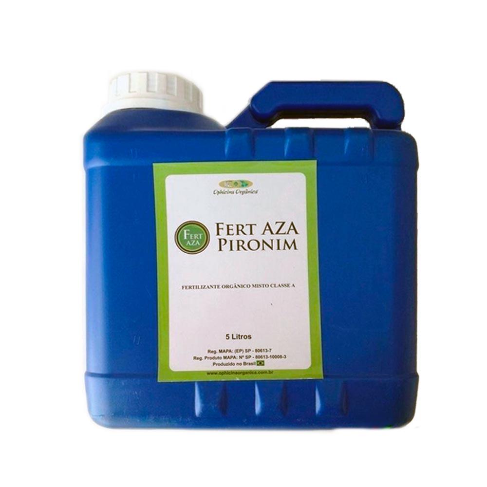 FERT AZA PIRONIM - Fertilizante Orgânico Classe A 5 Litros