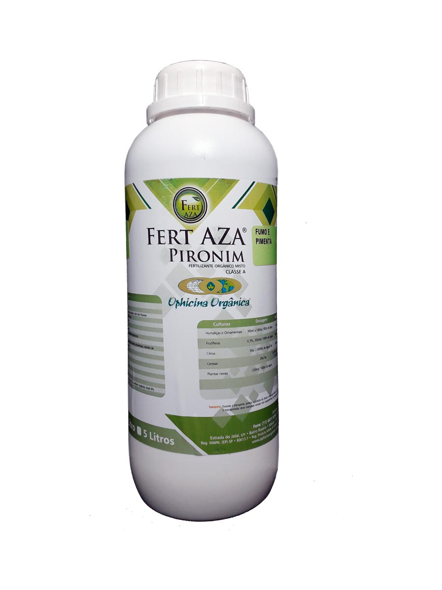 FERT AZA Pironim Fumo e Pimenta - 250 ML