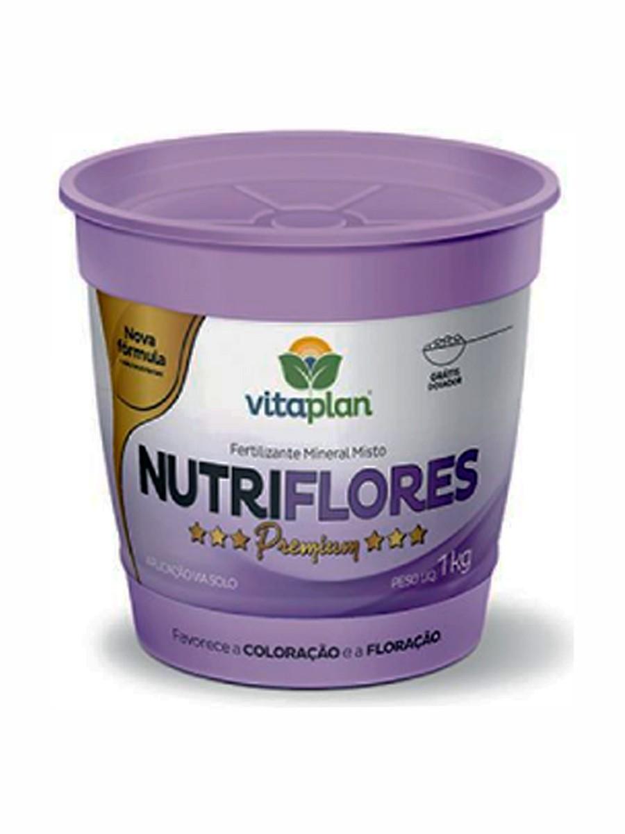 FERTILIZANTE NUTRIFLORES -  1KG