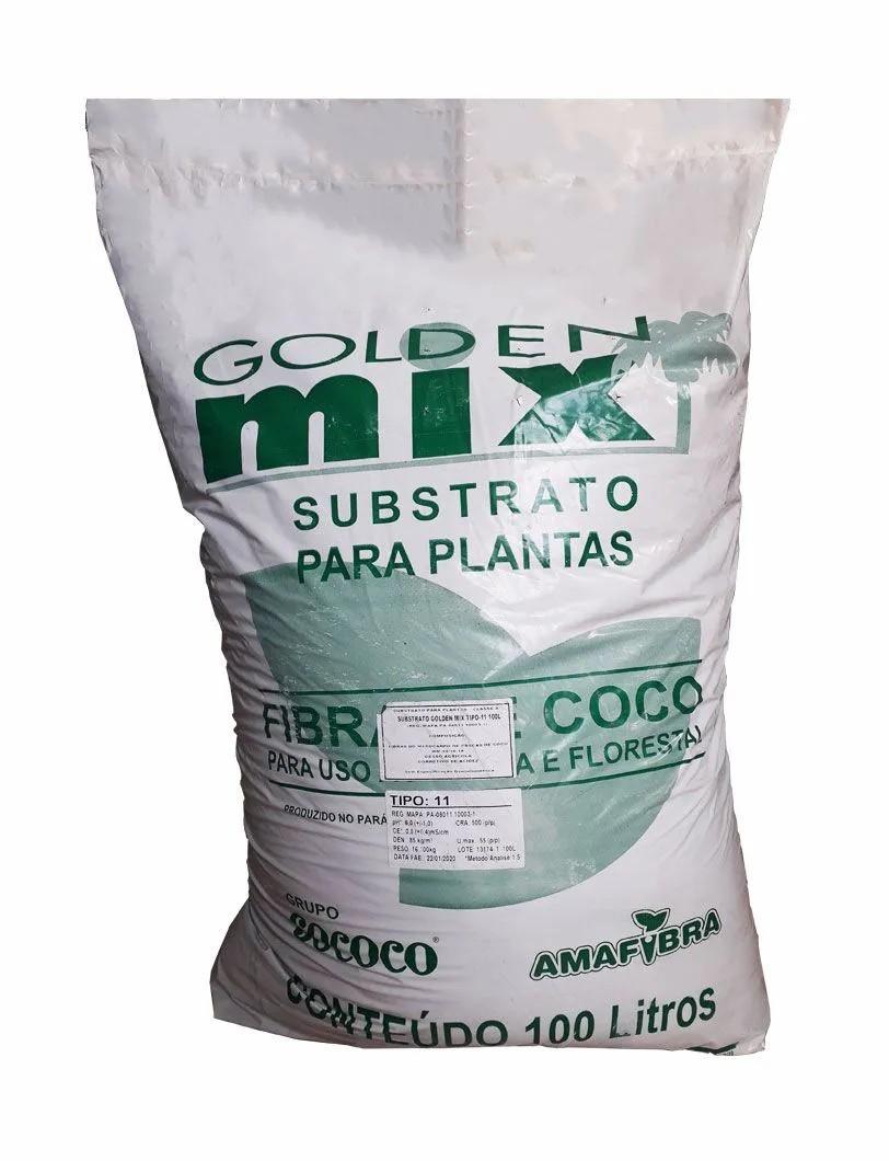 Fibra de Côco Amafibra SUBSTRATO G.MIX T-11 100L