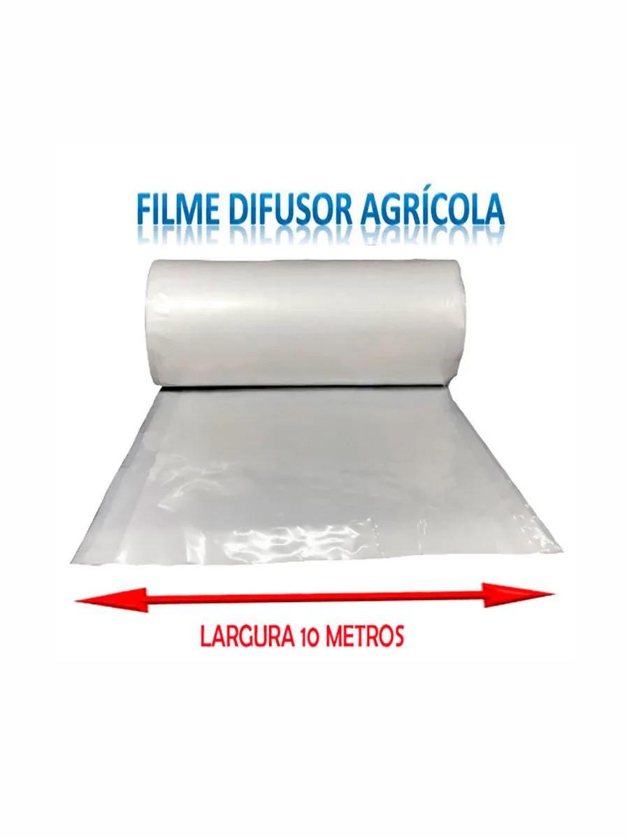 FILME AGRI.ESTUFA 10MT LARGURA NORTENE (150 MICRAS)