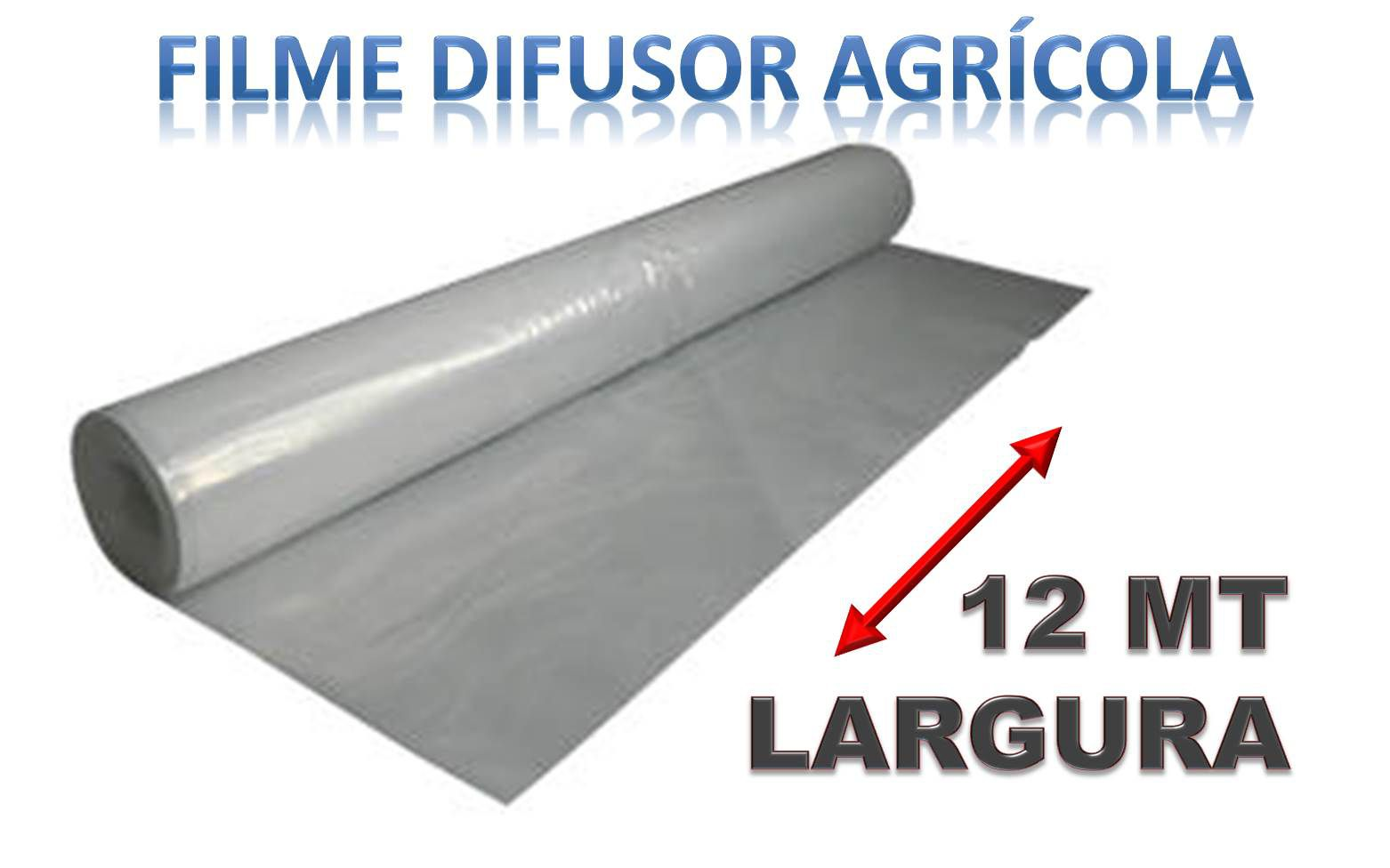 FILME DIFUSOR AGRICOLA  - 12 MT LARGURA