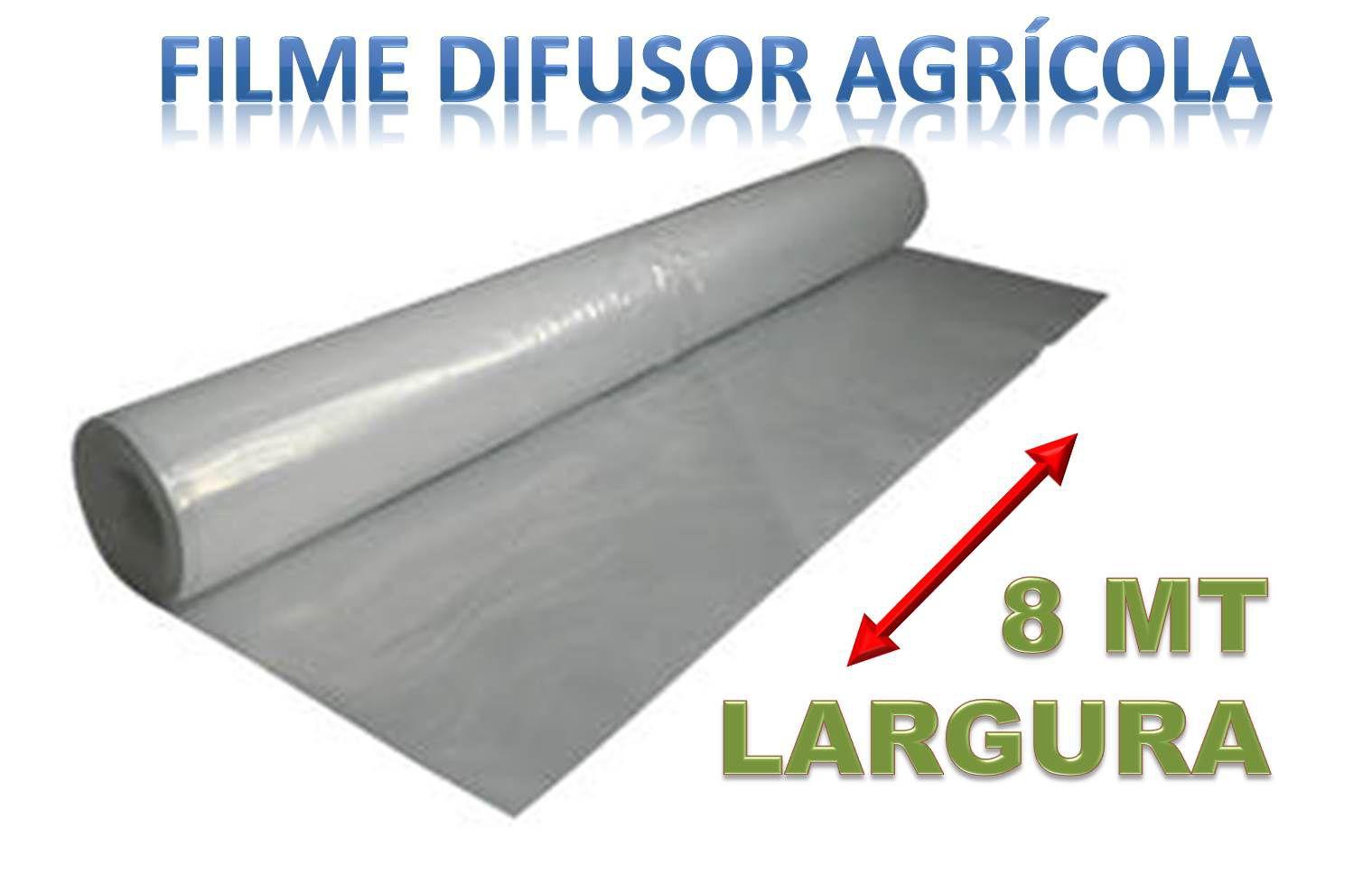 FILME DIFUSOR AGRICOLA  - 8 MT LARGURA