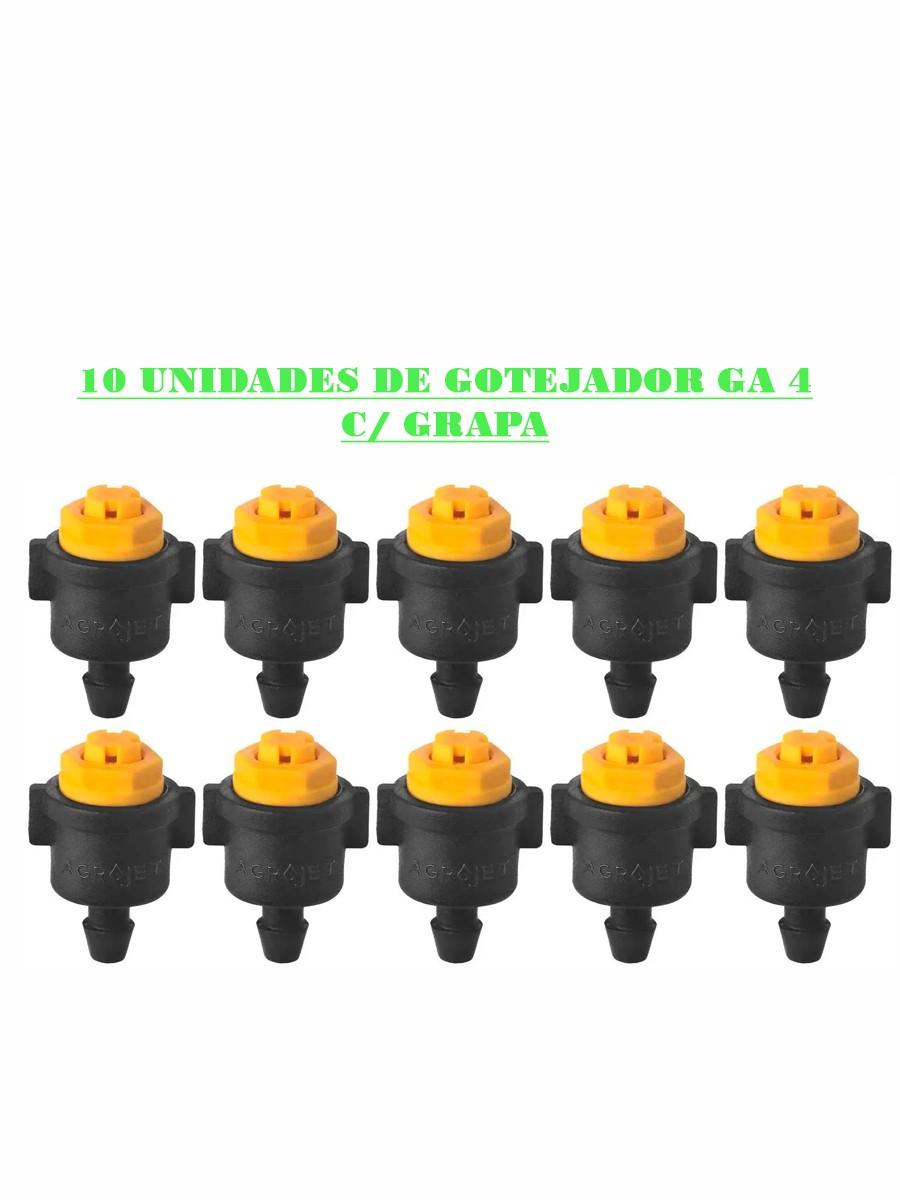 GOTEJADOR GA 4 C/ GRAPA - (10UN)