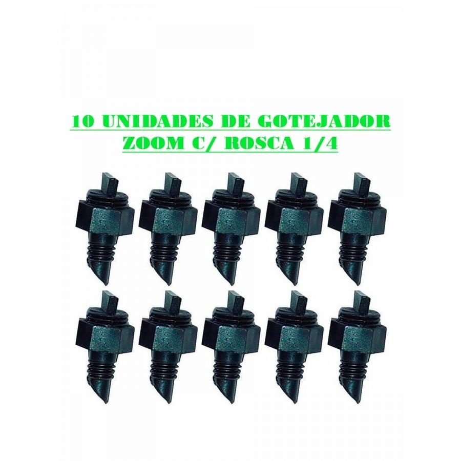 GOTEJADOR ZOOM C/ ROSCA 1/4 - (10UN)