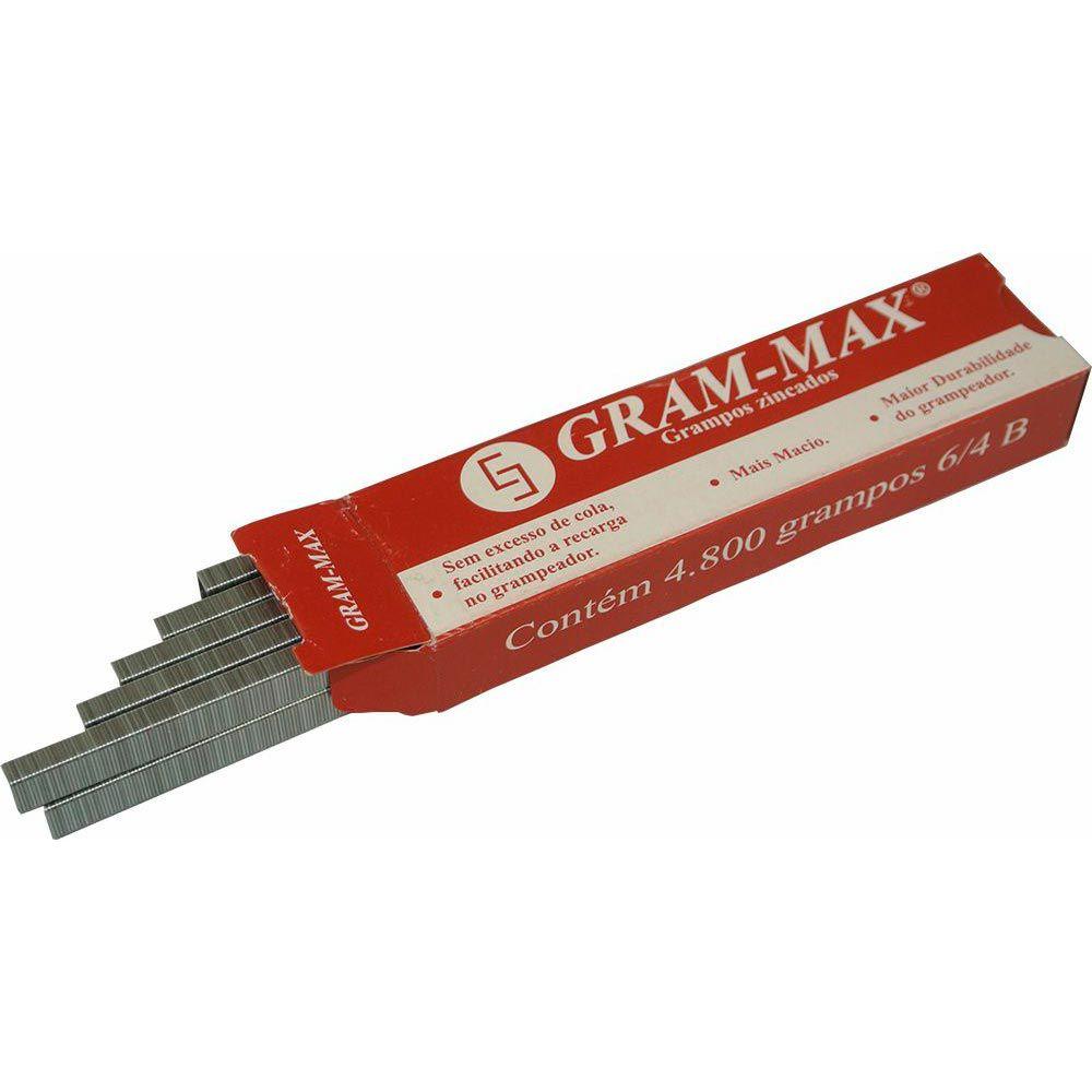 GRAMPO 6/4 GRAM-MAX - CAIXA COM 4.800 UN