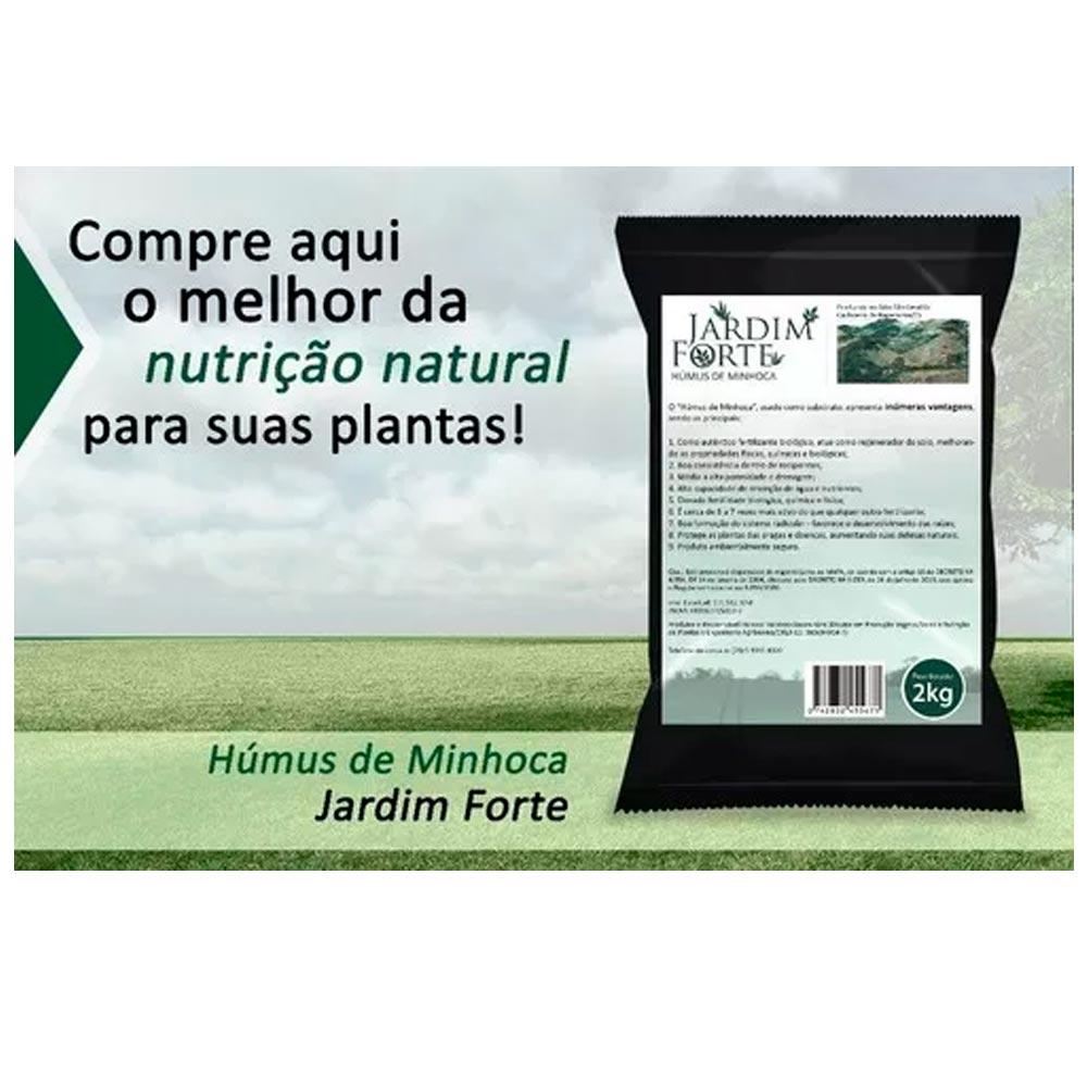 HÚMUS DE MINHOCA ADUBO ORGÂNICO PARA PLANTAS
