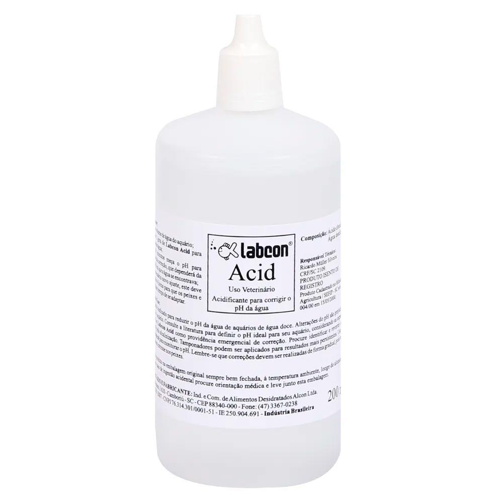 LABCON ACID AJUSTE DE pH DE AQUÁRIO - 100ML