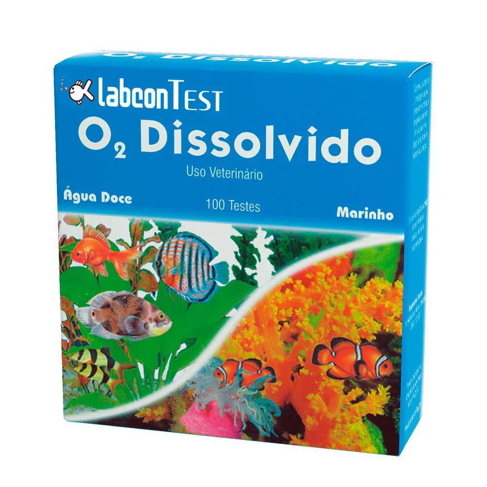 LABCON TEST O2 DISSOLVIDO 15ML AGUA DOCE