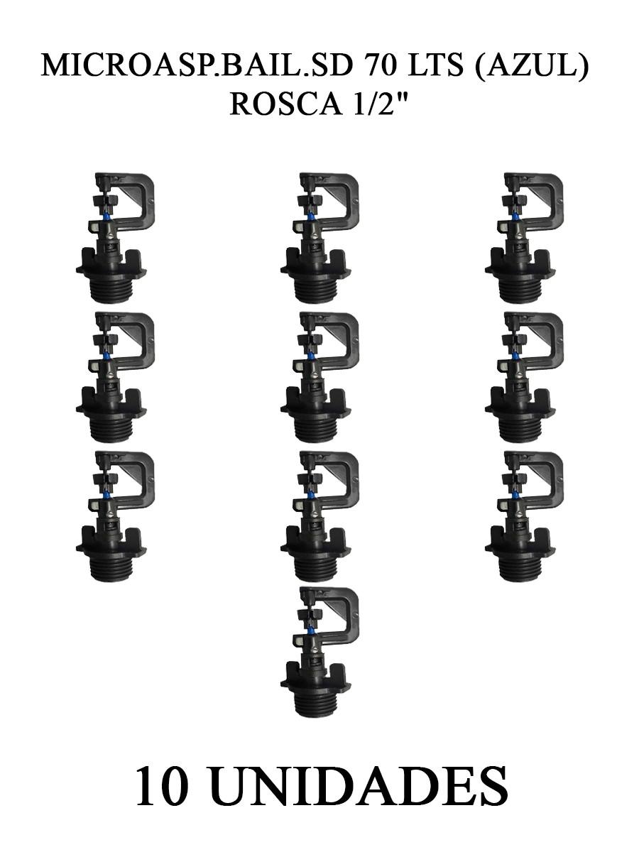 MICROASP.BAIL.SD 70 LTS (AZUL) ROSCA 1/2