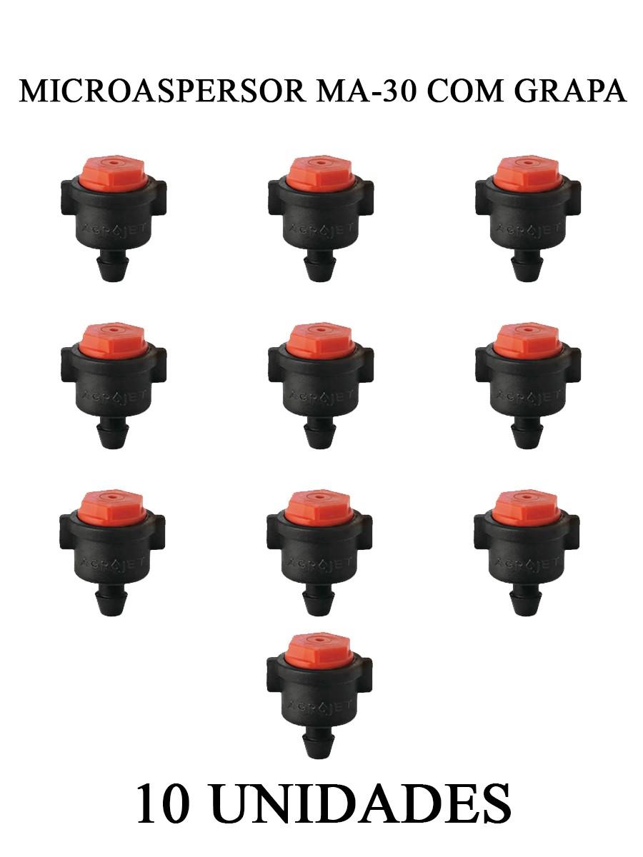 MICROASP. MA 30 C/ GRAPA - 10 UNIDADES