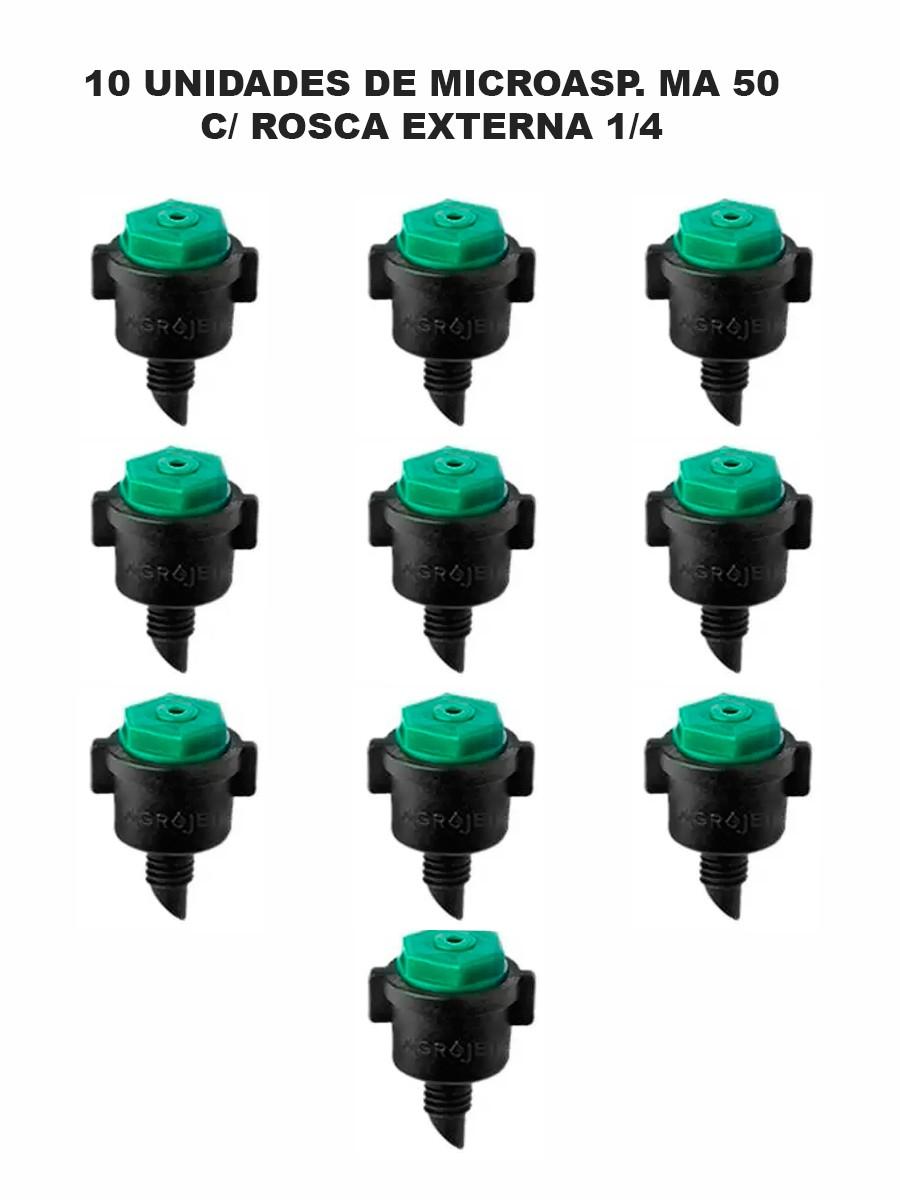 MICROASP. MA 50 C/ ROSCA 1/4