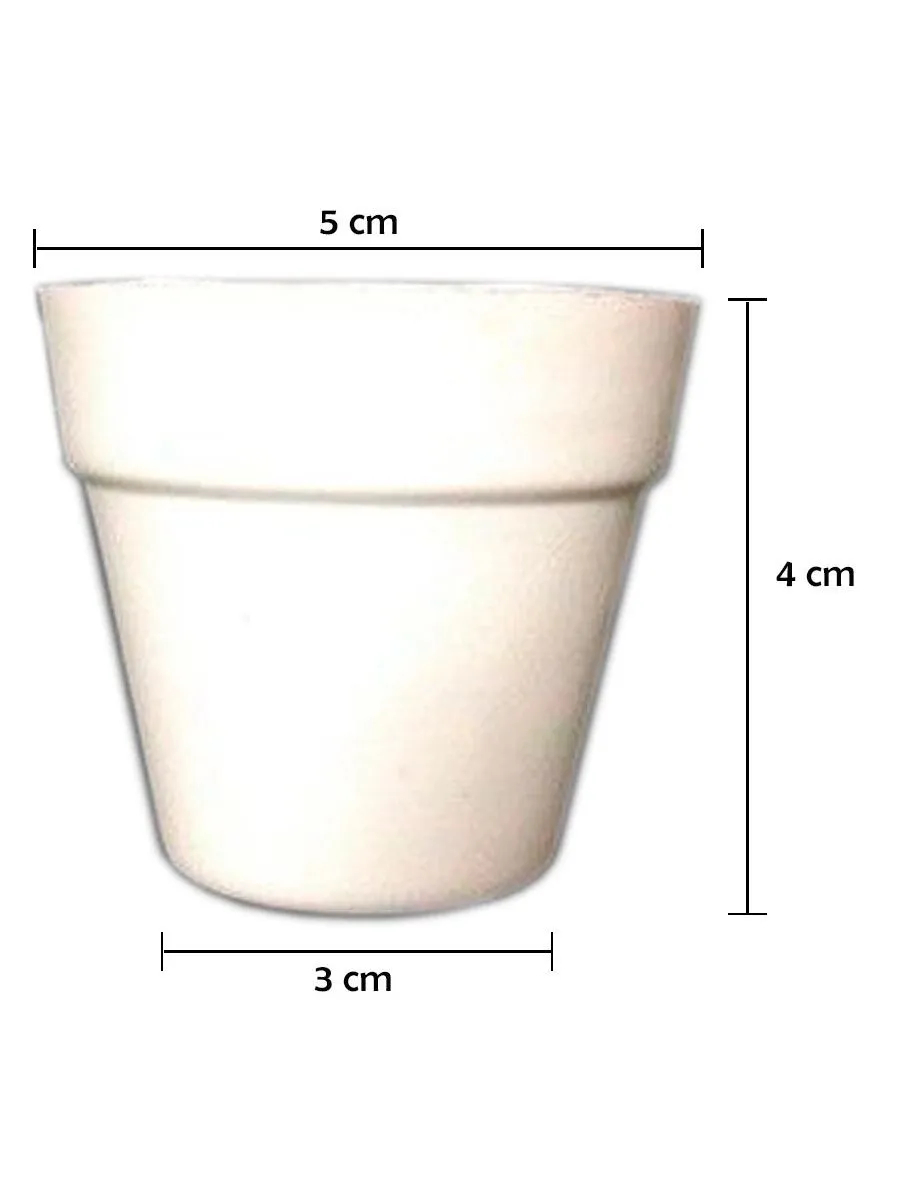 Mini Vaso Hidroponia Floating 100 VASOS