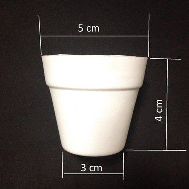 Mini Vaso Hidroponia Floating 5.000 VASOS