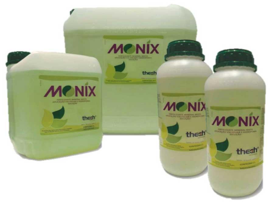 MONIX - Fertilizante Mineral Misto Aplicação via Foliar e Hidroponia 1 Litro