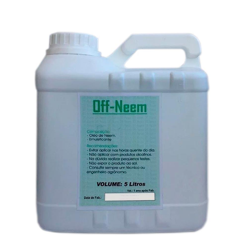 Óleo de Neem  OFF-NEEM 5 Litros