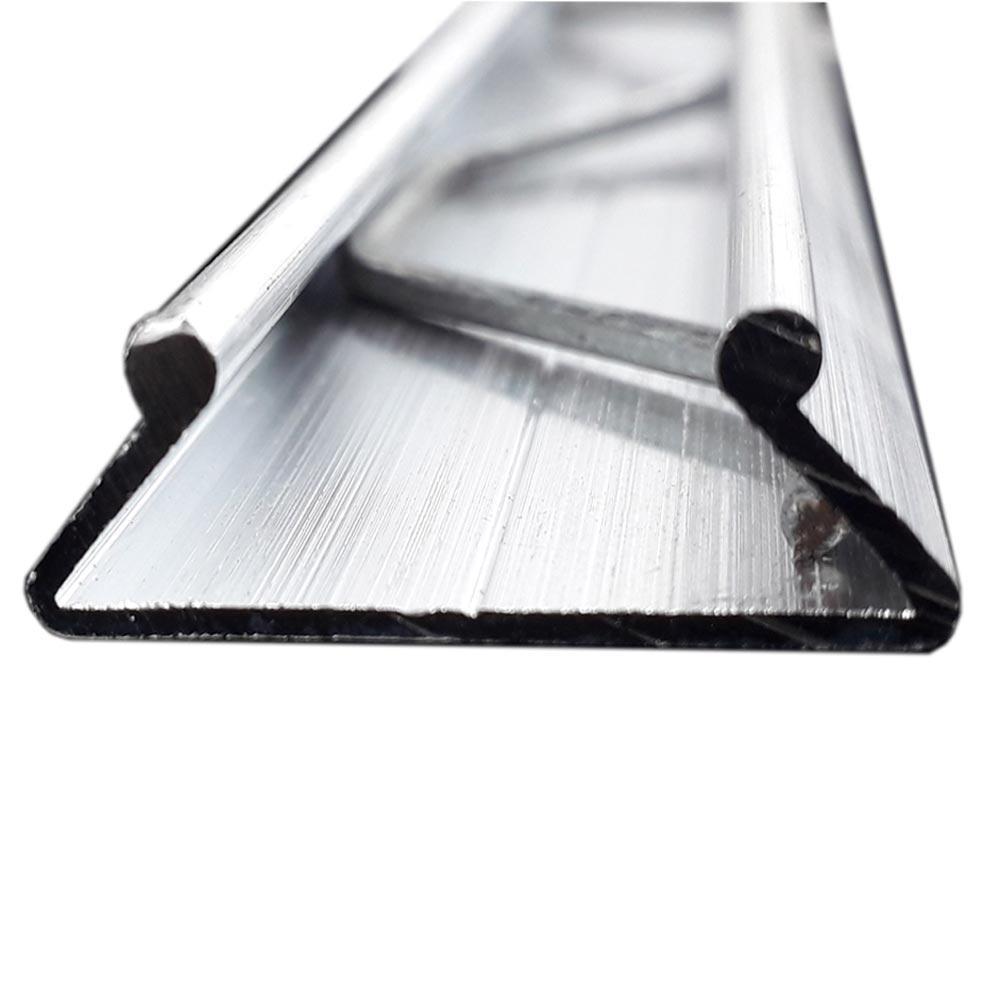 Perfil de Alumínio P-3263  - base dupla 1,5 METROS