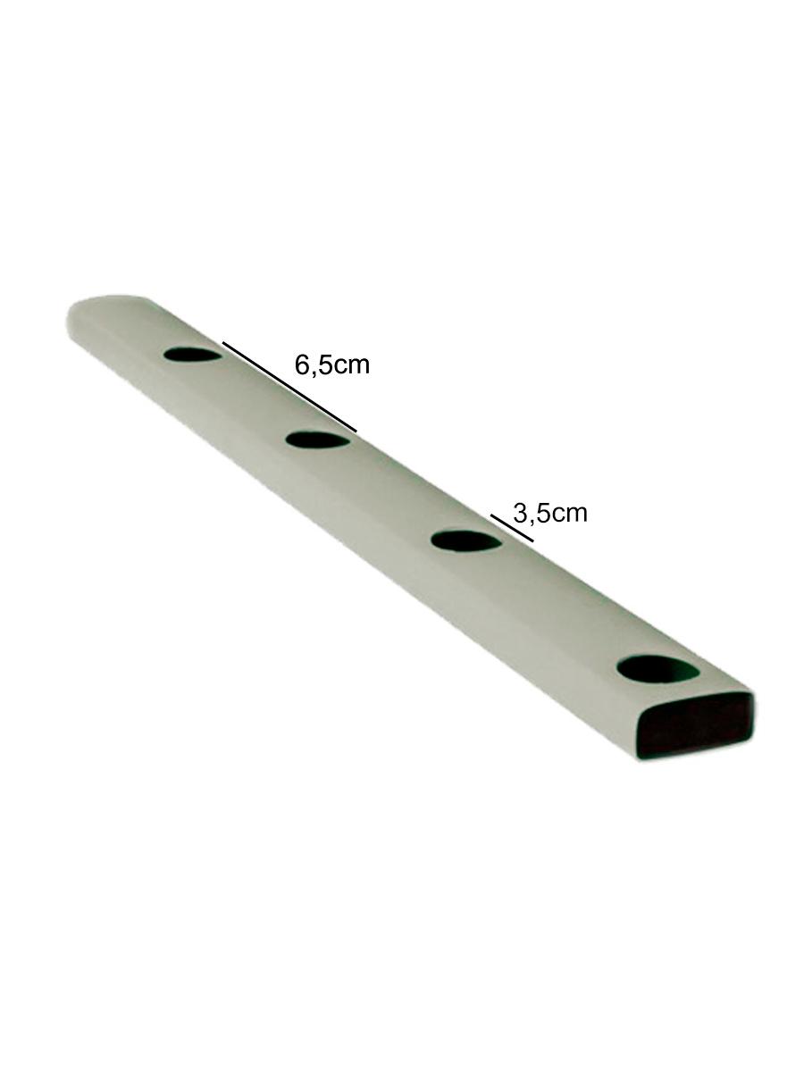 PERFIL HORTIVINYL PVC   60X40 MM - 2MT