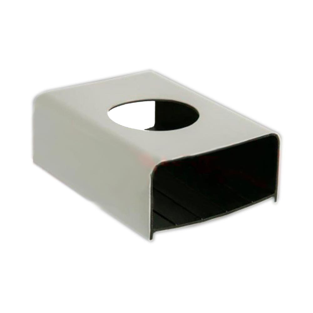 PERFIL PARA HIDROPONIA HORTIVINYL PVC 80X40mm -  1,5 METROS