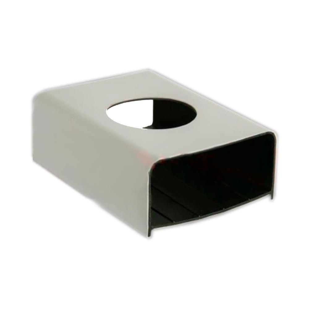 PERFIL PARA HIDROPONIA HORTIVINYL PVC 80X40mm -  2 METROS