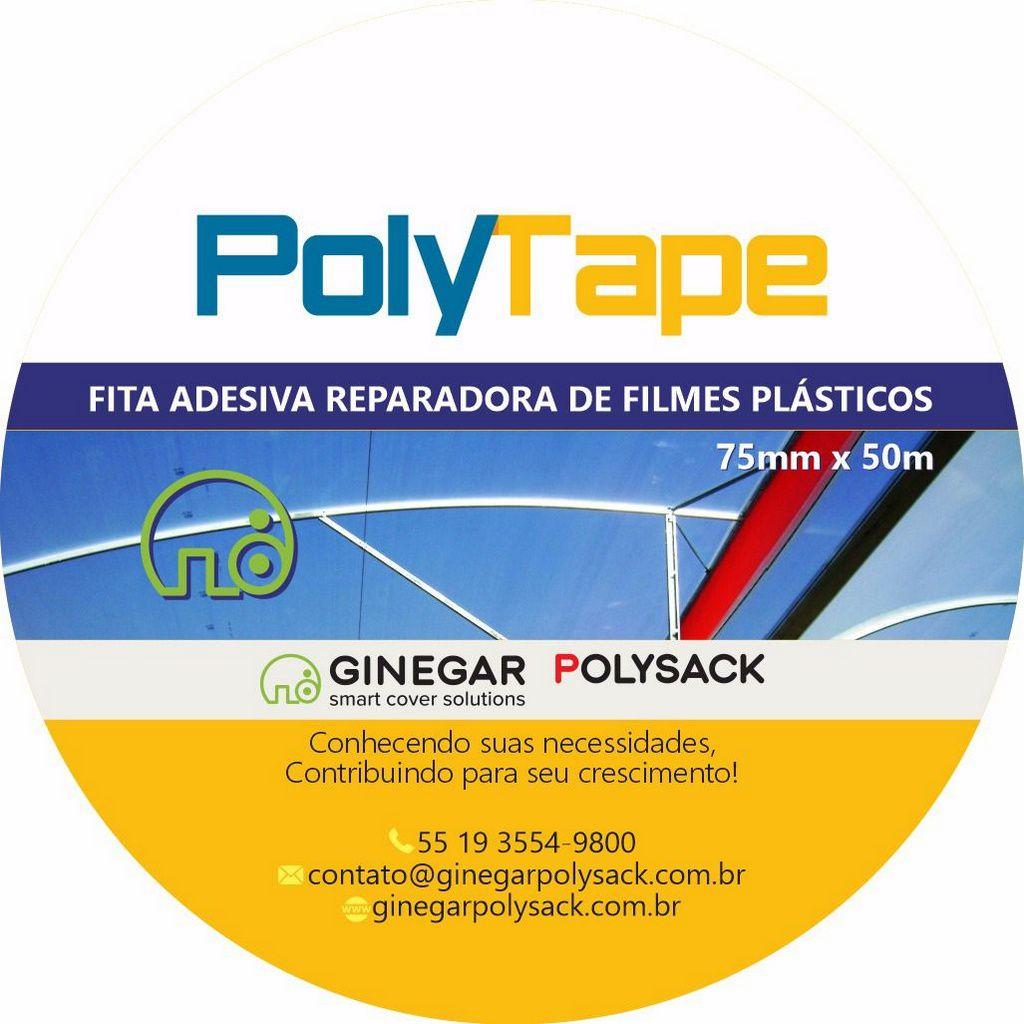 POLYTAPE - FITA ADESIVA REPARADORA DE FILMES PLÁSTICOS