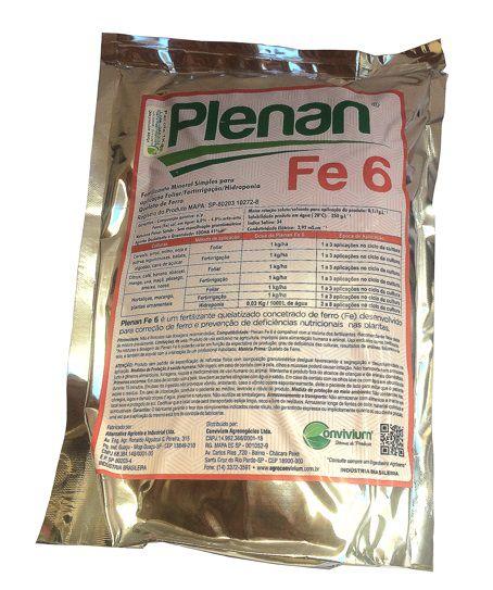Quelato de Ferro Plenan Peso:1 kg;Modelo:Fe 6