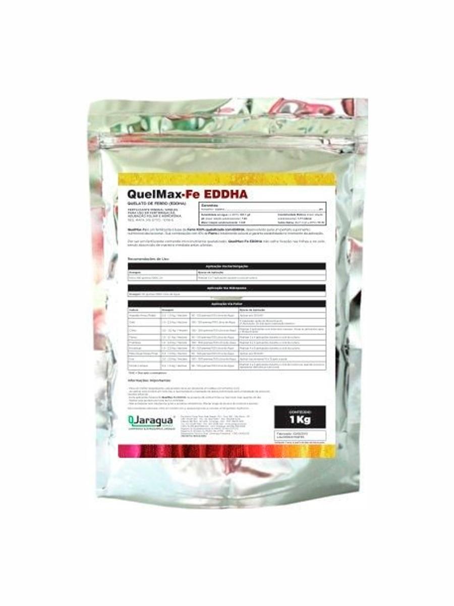 FERTILIZANTE QUELMAX-FE EDDHA 6% - 1 KG