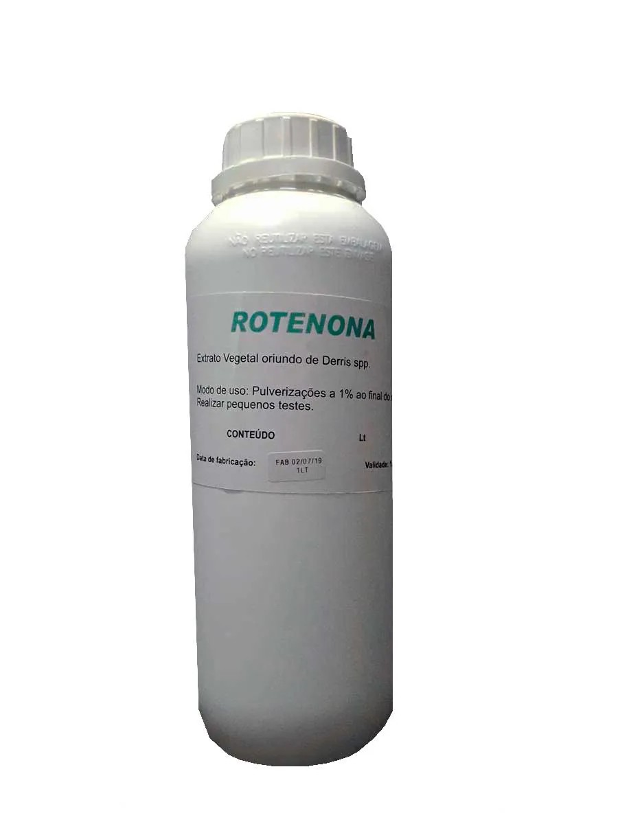 ROTENONA Fertilizante orgânico composto, inseticida natural