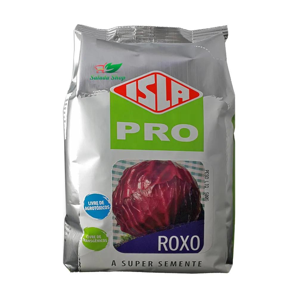 SEMENTE DE REPOLHO ROXO - LIVRE DE AGROTÓXICO - 500G