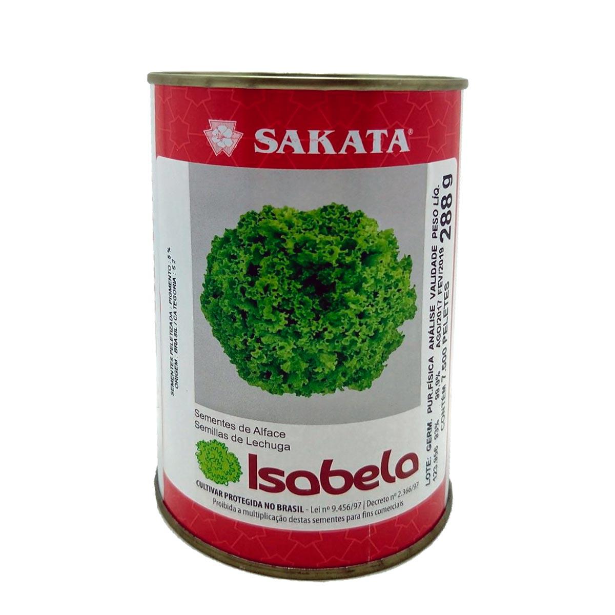 Sementes Alface Crespa Isabela Sakata
