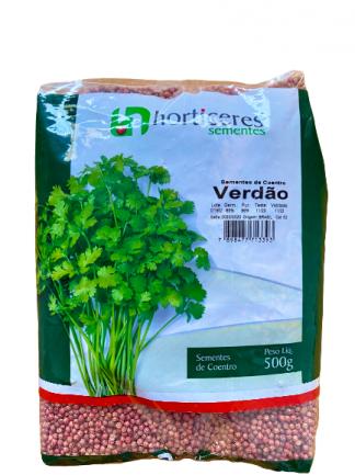 SEMENTES DE COENTRO VERDÃO HORTICERES - 500 G