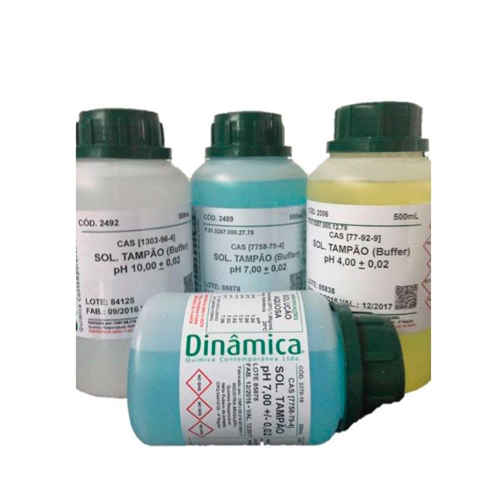 SOLUÇÃO TAMPÃO BUFFER pH 4 - 500ML