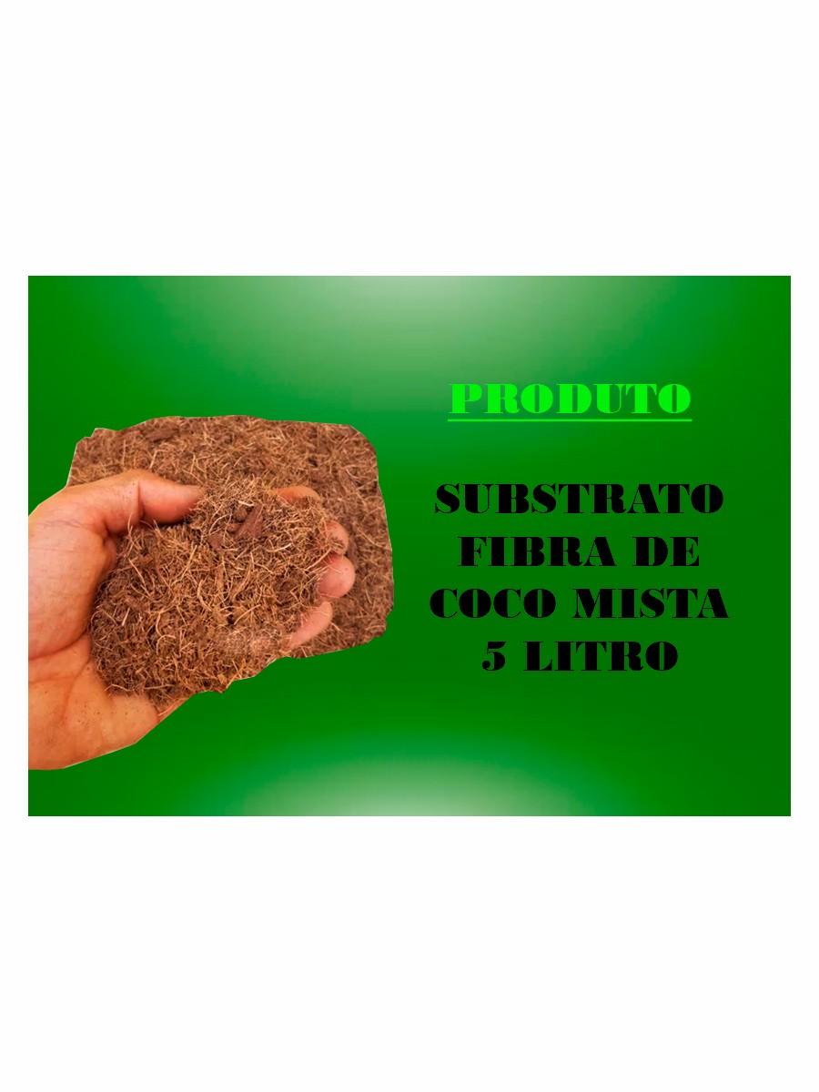 SUBSTRATO  FIBRA DE COCO MISTA - 5 LITROS