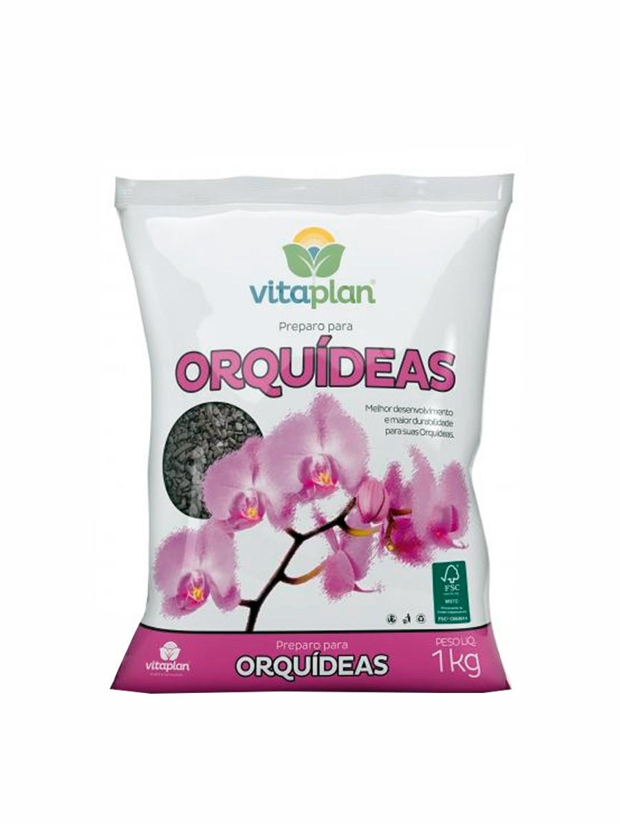 SUBSTRATO PREPARO PARA ORQUIDEAS - 1KG
