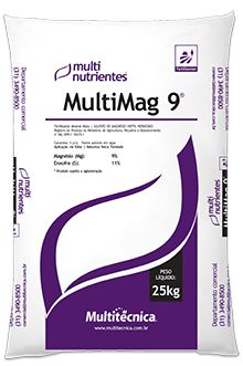 Sulfato de Magnésio Hepta Multitécnica MultiMag 9 - 1KG