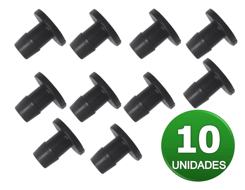 TAMPAO 13MM LISO P/ CHULA 10 UNIDADES