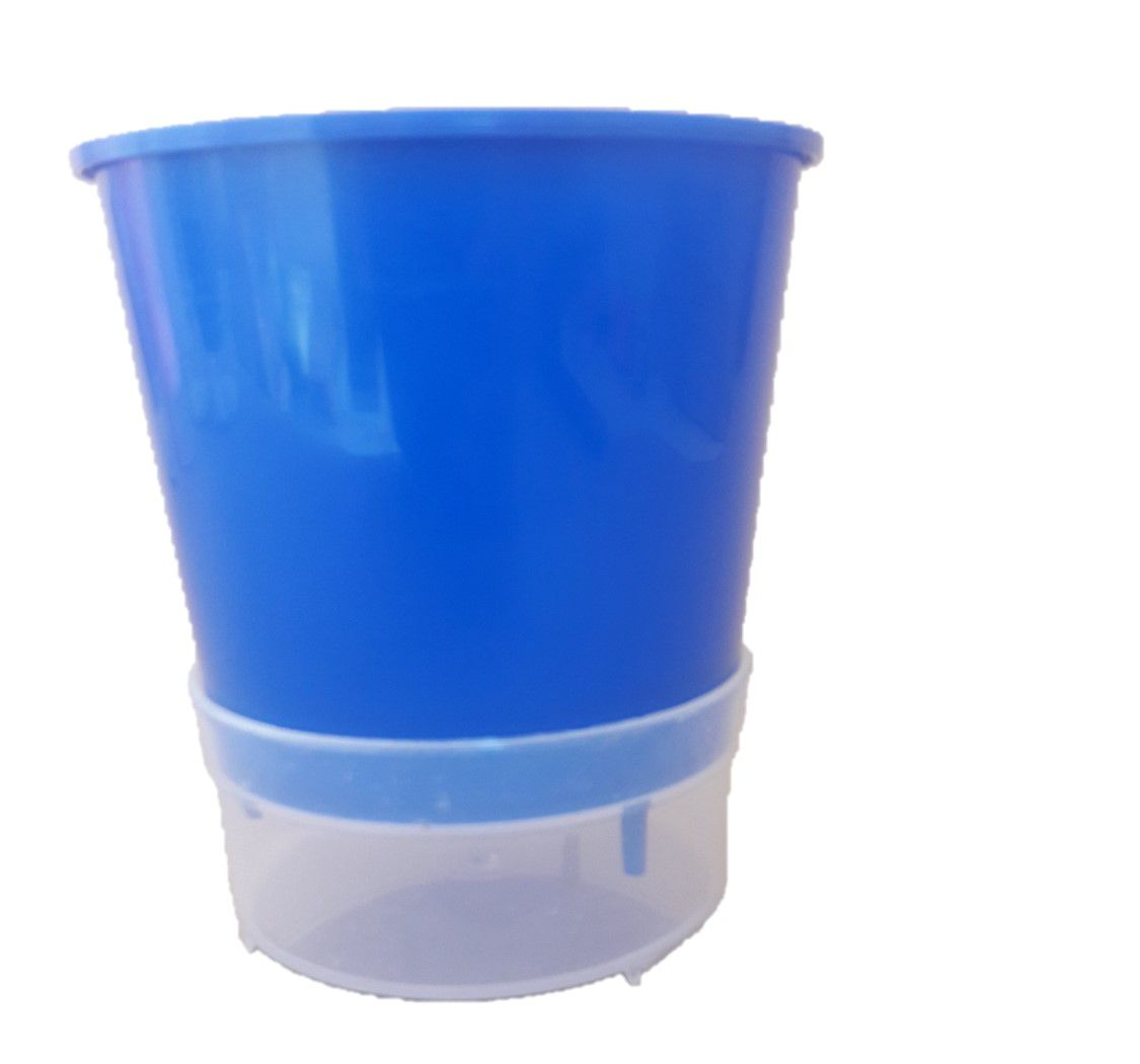 Vaso Autoirrigável Cor:Azul escuro