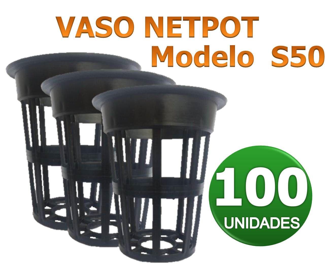 VASO NETPOT S50 - 100 UN
