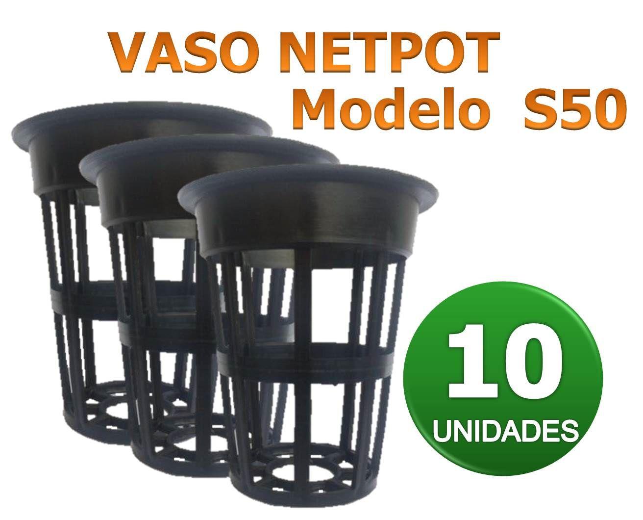 VASO NETPOT S50 - 10 UN