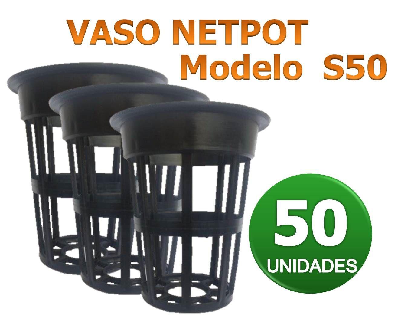 VASO NETPOT S50 - 50 UN