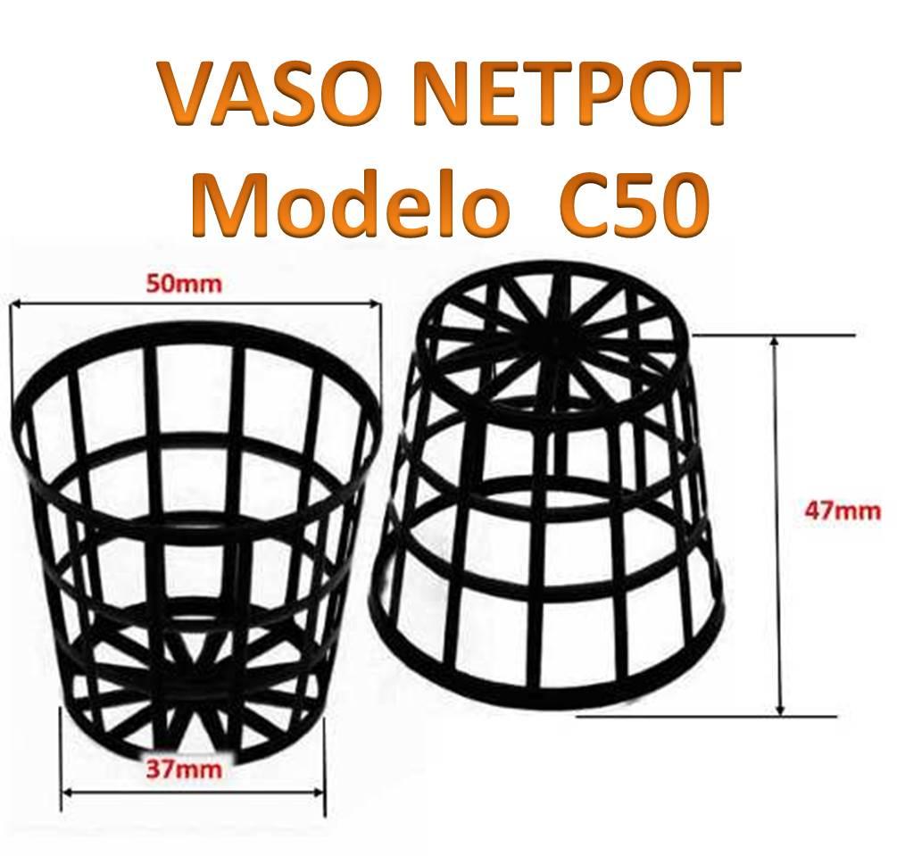 Vaso Netpot Cestinha C50