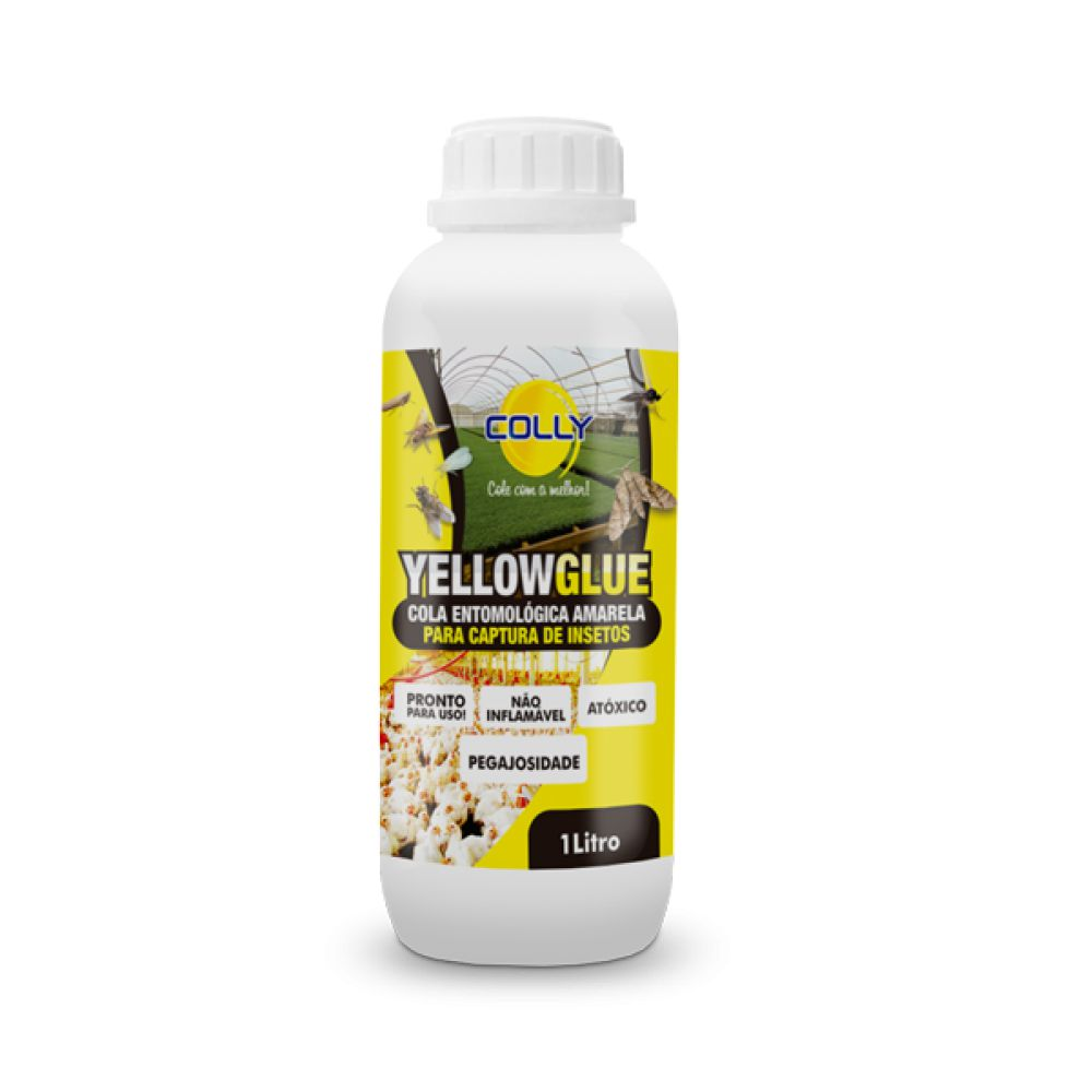 YELLOWGLUE - COLA ENTOMOLÓGICA AMARELA PARA CAPTURA DE INSETOS 1 Litro