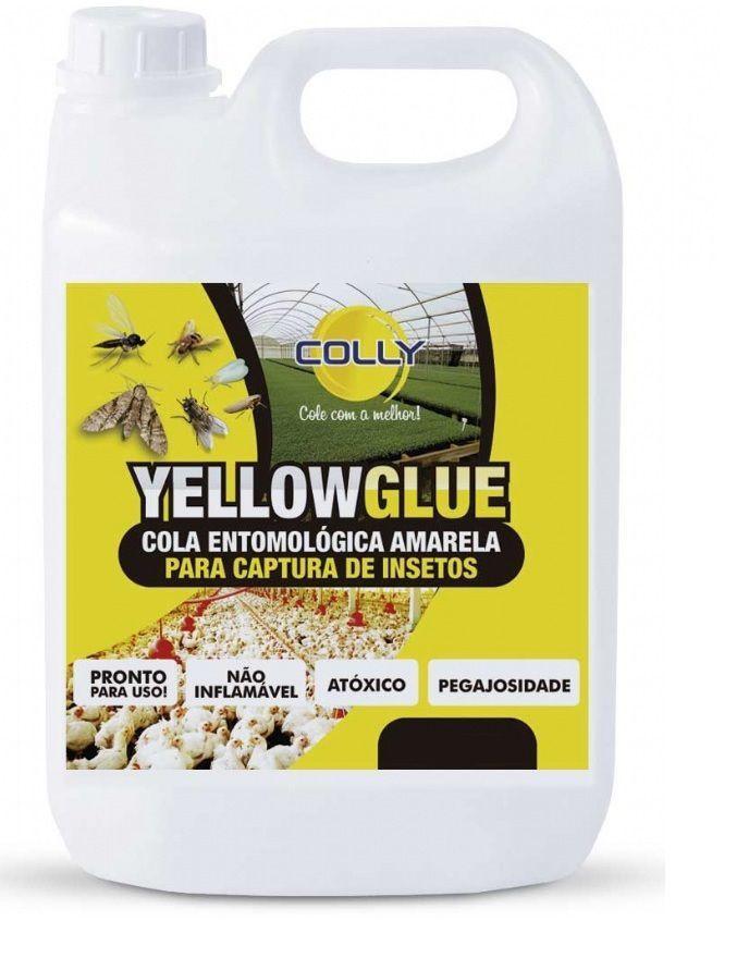 YELLOWGLUE - COLA ENTOMOLÓGICA AMARELA PARA CAPTURA DE INSETOS 5 Litros