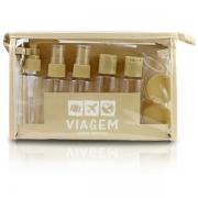 Kit de Frascos Para Viagem de 10 Peças Shampoo Perfume Jacki Design