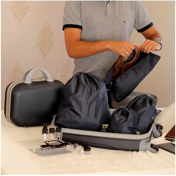 Bolsa Porta Sapato Viagem Organizador De Mala Jacki